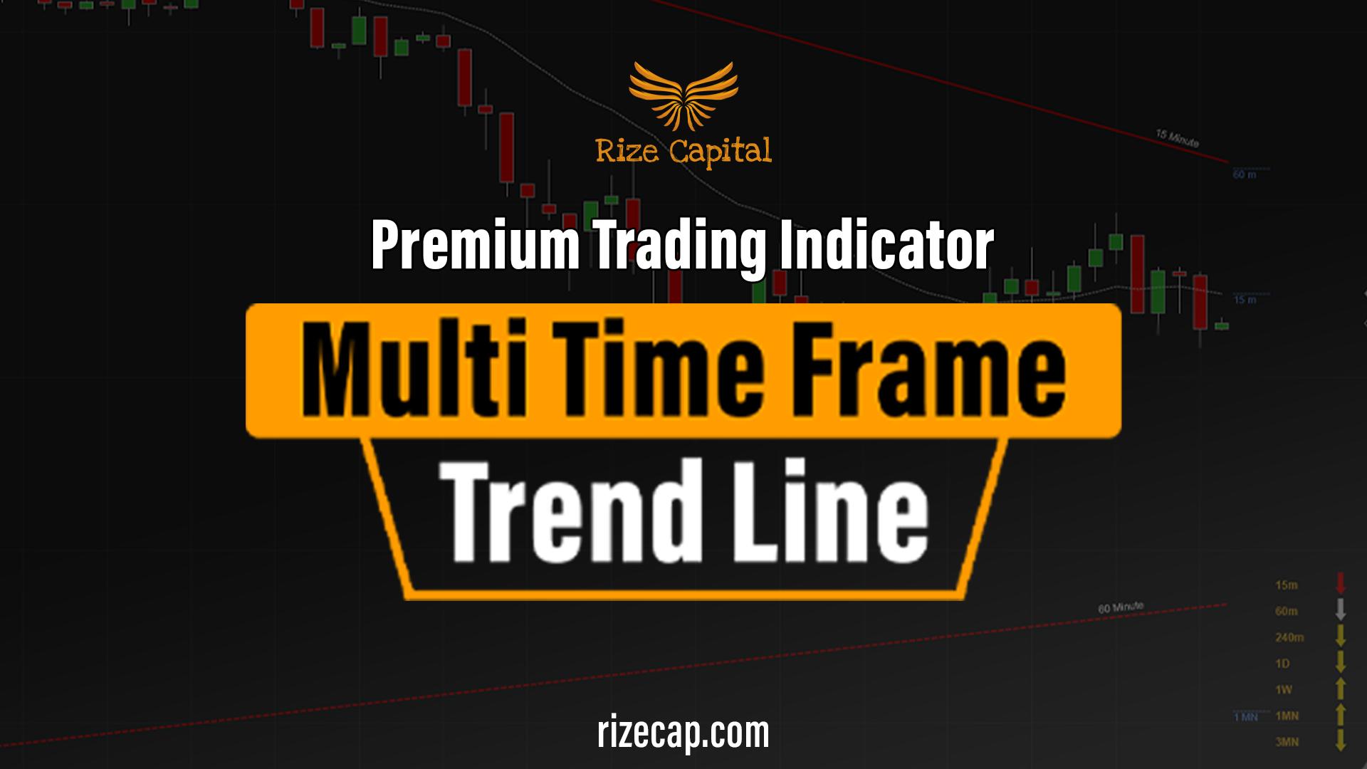 Multi Time Frame Trend Line Premium Indicator