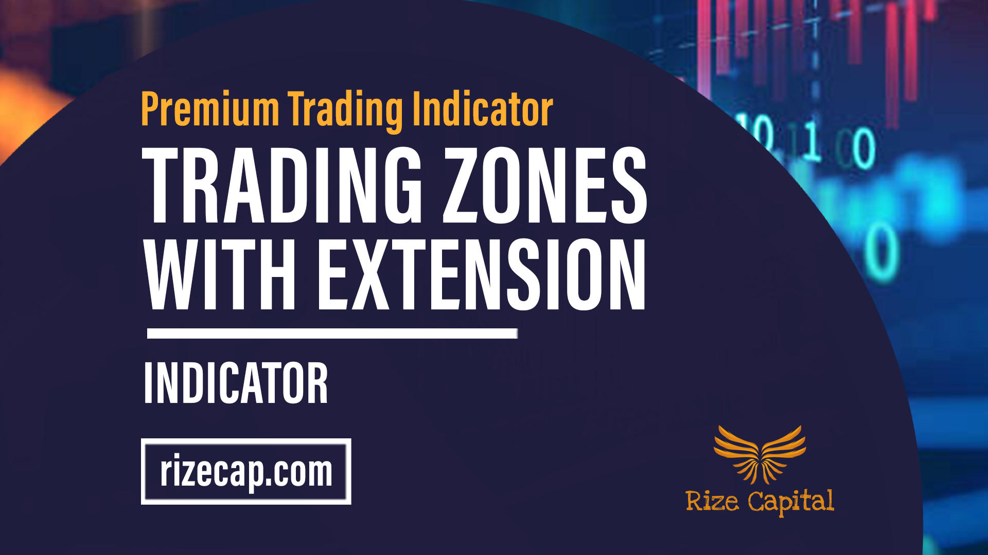 Trading Zones With Extension Premium Indicator