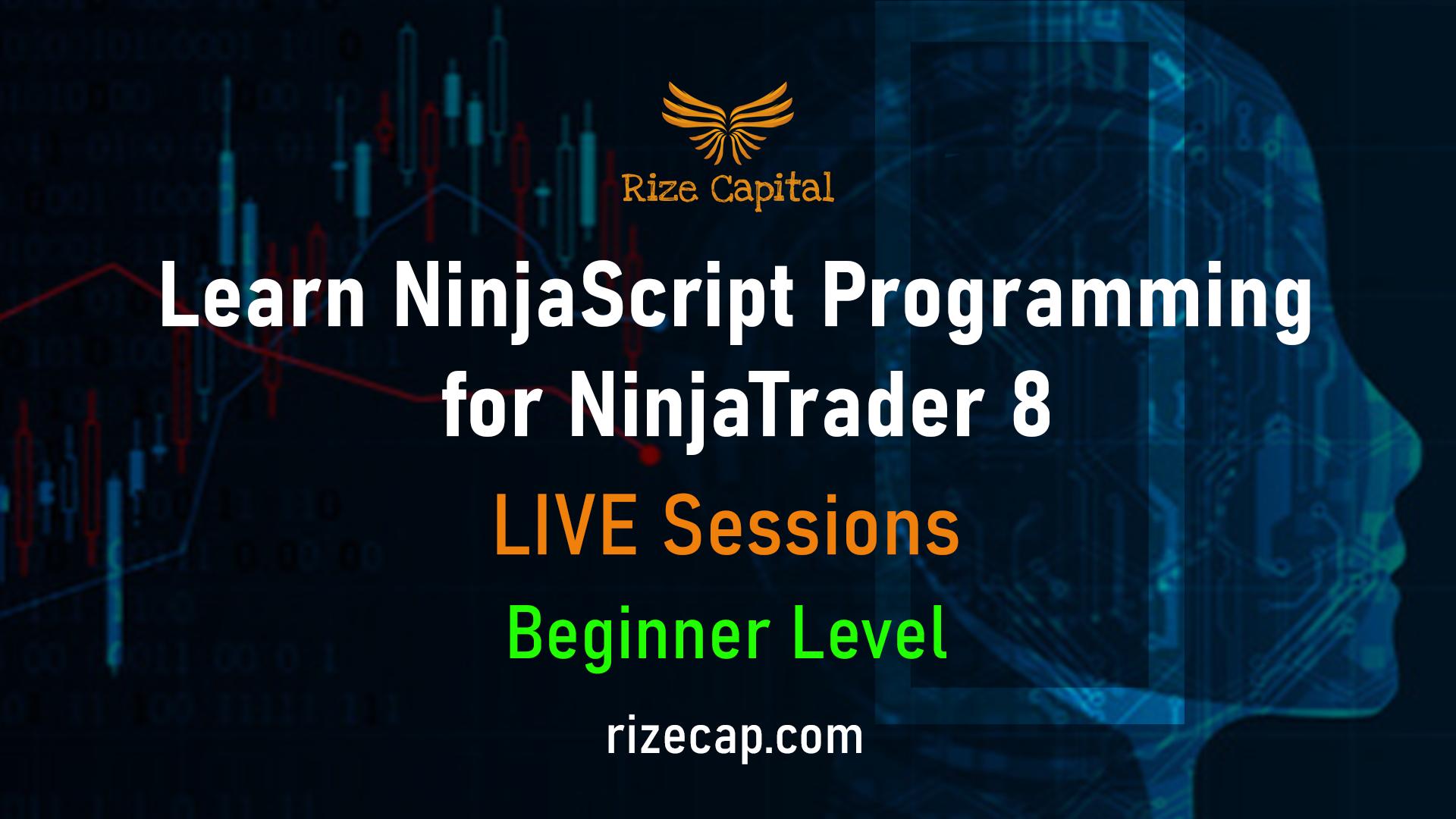 NinjaScript Training Beginner Level
